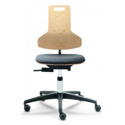 Arbeitsstuhl mit Sitzpolster