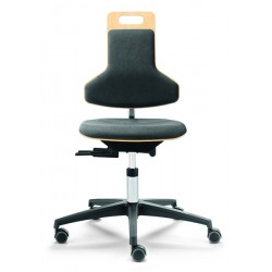 Arbeitsstuhl mit Sitz- und Rückenpolster